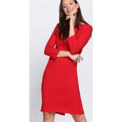 Czerwona Sukienka Protest. Czerwone sukienki dzianinowe marki Mohito, l. Za 69,99 zł.