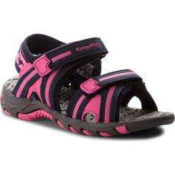 Sandały dziewczęce: Sandały KANGAROOS – Corser 16089 000 4202 Dk Navy/Magenta