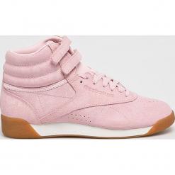Reebok Classic - Buty F/S Hi. Szare buty sportowe damskie reebok classic marki Reebok Classic, z materiału. W wyprzedaży za 349,90 zł.