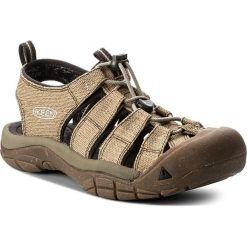 Sandały KEEN - Newport Retro 1018808 Hemp/Dark Earth. Brązowe sandały męskie marki Keen, z materiału. W wyprzedaży za 299,00 zł.