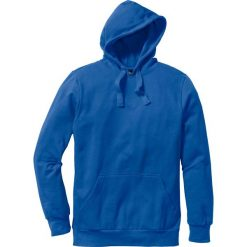 Bluza z kapturem Regular Fit bonprix lazurowy. Niebieskie bejsbolówki męskie bonprix, l, z kapturem. Za 74,99 zł.