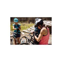 Koszulka na rower MTB bez rękawów ST 500 damska. Czerwone bluzki sportowe damskie marki ROCKRIDER, xs, z elastanu. W wyprzedaży za 69,99 zł.