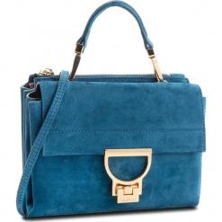 Torebka COCCINELLE - CD6 Arlettis Suede E1 CD6 55 B7 01 Saphir B02. Niebieskie torebki klasyczne damskie marki Coccinelle, ze skóry. W wyprzedaży za 799,00 zł.