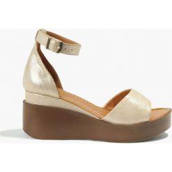 Rzymianki damskie: Sandały beżowe Juana