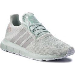 Buty adidas - Swift Run W B37720 Vapgrn/Gretwo/Ftwwhht. Zielone buty sportowe damskie marki Adidas, z materiału. W wyprzedaży za 269,00 zł.