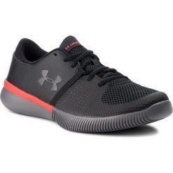 Buty UNDER ARMOUR - Ua Zone 3 Nm 3020753-001 Blk. Czarne buty fitness męskie marki Under Armour, z materiału. W wyprzedaży za 189,00 zł.