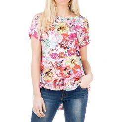 T-shirty damskie: T-shirt w kolorze fuksji
