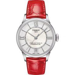 RABAT ZEGAREK TISSOT Chemin Des Tourelles Automatic Lady T099.207.1. Białe zegarki damskie TISSOT, ze stali. W wyprzedaży za 2816,00 zł.