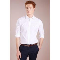 Polo Ralph Lauren Koszula biznesowa white. Szare koszule męskie marki Polo Ralph Lauren, l, z bawełny, button down, z długim rękawem. Za 509,00 zł.