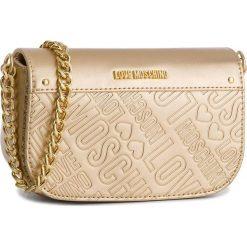 Torebka LOVE MOSCHINO - JC4034PP16LF0901  Oro. Żółte torebki klasyczne damskie marki Love Moschino, ze skóry ekologicznej. W wyprzedaży za 499,00 zł.