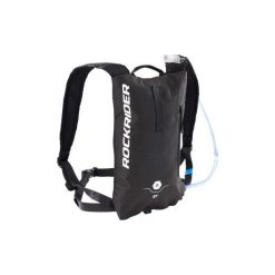ae13a2a777c1c Plecak z bukłakiem na rower MTB ST 100 3 L. Szare plecaki męskie ROCKRIDER,