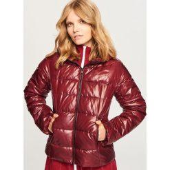 Pikowana kurtka - Bordowy. Czerwone kurtki damskie pikowane Reserved. Za 159,99 zł.