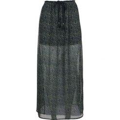 Spódniczki: Spódnica w kolorze czarno-ciemnozielonym