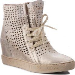 Sneakersy CARINII - B4412 F76-000-000-B88. Żółte sneakersy damskie Carinii, ze skóry. W wyprzedaży za 229,00 zł.