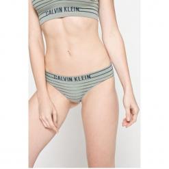 Calvin Klein Underwear - Figi. Szare figi Calvin Klein Underwear, l, z dzianiny. W wyprzedaży za 49,90 zł.