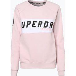Superdry - Damska bluza nierozpinana, różowy. Szare bluzy damskie marki Superdry, l, z tkaniny, z okrągłym kołnierzem, na ramiączkach. Za 199,95 zł.