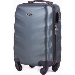Podręczna walizka kabinowa abs Ciemno-zielona (82022-uniw). Zielone walizki Solier. Za 156,68 zł.
