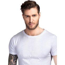 T-shirt ADAMO TSBS000040. Białe t-shirty męskie z nadrukiem Giacomo Conti, m, z bawełny. Za 79,00 zł.