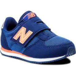 Trampki chłopięce: Sneakersy NEW BALANCE – KV220BOI Granatowy