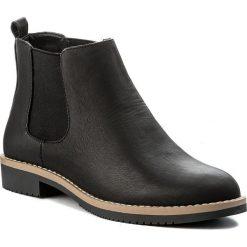 Sztyblety JENNY FAIRY - LS4252-01 Czarny. Czarne buty zimowe damskie marki Jenny Fairy, z materiału. Za 119,99 zł.