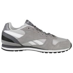 Buty sportowe w kolorze szarym. Brązowe buty sportowe męskie marki Reebok, z materiału. W wyprzedaży za 219,95 zł.
