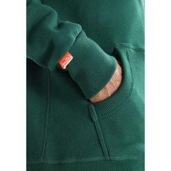 Bluzy męskie: Superdry ORANGE LABEL ZIPHOOD Bluza rozpinana track green
