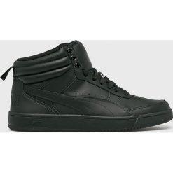 Puma - Buty Rebound Street v2. Czarne buty skate męskie Puma, z gumy, na sznurówki. W wyprzedaży za 239,90 zł.