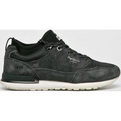Pepe Jeans - Buty. Szare buty skate męskie Pepe Jeans, z gumy, na sznurówki. W wyprzedaży za 349,90 zł.