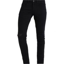 Redefined Rebel STOCKHOLM DESTROY Jeansy Slim Fit black. Czarne jeansy męskie marki Redefined Rebel. Za 169,00 zł.