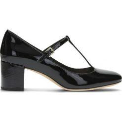 Buty ślubne damskie: Skórzane czółenka z paskiem Orabella Fern