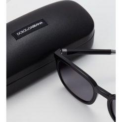 Dolce&Gabbana Okulary przeciwsłoneczne black. Czarne okulary przeciwsłoneczne damskie Dolce&Gabbana. Za 949,00 zł.