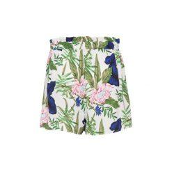 Szorty i Bermudy  Only  SHORTS  onlnova aop lux paper back shorts wvn. Szare bermudy damskie ONLY. Za 118,73 zł.