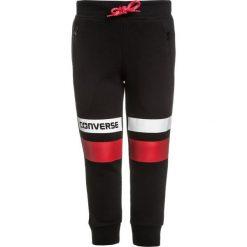Chinosy chłopięce: Converse COLOURBLOCKED SLIM FIT Spodnie treningowe black