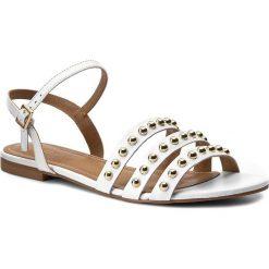 Rzymianki damskie: Sandały KAZAR – Tayla 28515-01-01 Biały