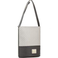 Torebka MONNARI - BAG9000-M00  Biały z Szarym. Białe torebki klasyczne damskie marki Monnari, ze skóry ekologicznej, duże. W wyprzedaży za 139,00 zł.