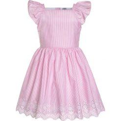 Sukienki dziewczęce z falbanami: Carter's MINI STRIPE EASTER DRESS Sukienka koszulowa pink
