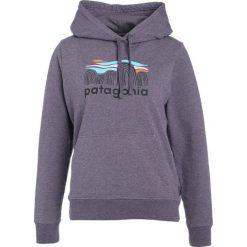 Bluzy damskie: Patagonia FITZ ROY BOULDERS Bluza z kapturem piton purple