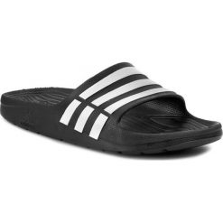Klapki adidas - Duramo Slide G15890  Black1/Wht. Białe klapki męskie marki Adidas, m. Za 79,95 zł.