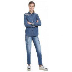 Desigual Koszula Damska Exotic Classic S Niebieski. Niebieskie koszule damskie Desigual, s. Za 399,00 zł.