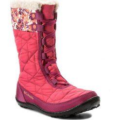 Kozaki dziewczęce: Śniegowce COLUMBIA – Youth Minx Mid II Waterproof Omni-Heat BY1336 Punch Pink/Corange 637