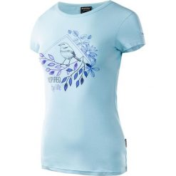 MARTES Koszulka damska LADY BIRD POWDER blue r. XS. Niebieskie topy sportowe damskie marki MARTES, xs. Za 33,75 zł.