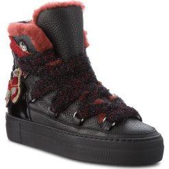 Sneakersy ICEBERG - Gioia 18IID1384A Nero. Czarne sneakersy damskie Iceberg, z materiału. W wyprzedaży za 1579,00 zł.