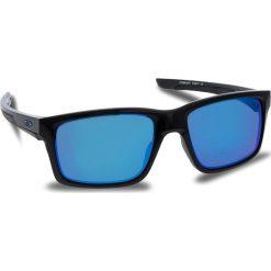 Okulary przeciwsłoneczne OAKLEY - Mainlink OO9264-3057 Polished Black/Prizm Sapphire Iridium. Czarne okulary przeciwsłoneczne męskie aviatory Oakley, z tworzywa sztucznego. W wyprzedaży za 549,00 zł.