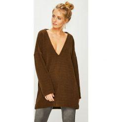 Answear - Sweter Nomad. Brązowe swetry klasyczne damskie ANSWEAR, l, z dzianiny. Za 149,90 zł.