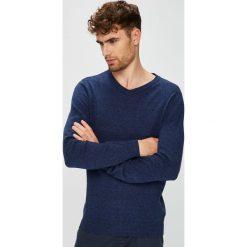 Medicine - Sweter Basic. Niebieskie swetry klasyczne męskie MEDICINE, l, z bawełny. W wyprzedaży za 79,90 zł.