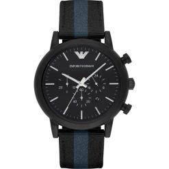 Zegarek EMPORIO ARMANI - Luigi AR1948 Black/Black. Czarne zegarki męskie Emporio Armani. Za 1059,00 zł.