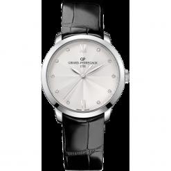 ZEGAREK GIRARD PERREGAUX 1966 AUTOMATIC 36 MM 49523-11-171-CB6A. Szare zegarki damskie GIRARD-PERREGAUX, srebrne. Za 35690,00 zł.