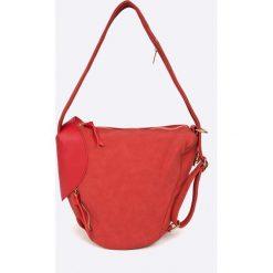 Answear - Torebka. Białe torebki klasyczne damskie ANSWEAR, z materiału, średnie. W wyprzedaży za 69,90 zł.