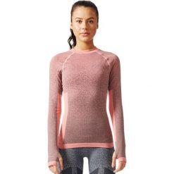 Adidas Koszulka Seamless LS różowy r. M (BR6396). Czerwone topy sportowe damskie Adidas, m. Za 279,90 zł.