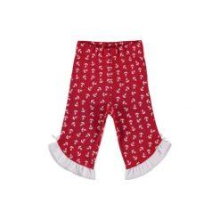Spodnie niemowlęce: Pink or blue Leginsy red